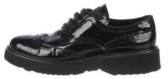 Prada Patent Leather Oxfords