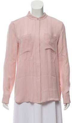 Rebecca Minkoff Silk Button-Up Top