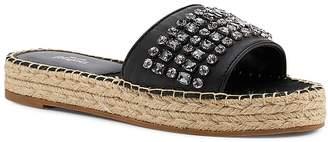 Botkier Women's Julie Leather Espadrille Slide Sandals