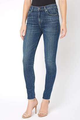 Citizens of Humanity Rocket in Agoura High Rise Raw Hem Skinny Jean