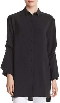 Kenneth Cole Tab-Sleeve Tunic Shirt