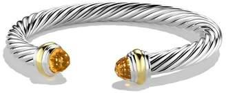 David Yurman Cable Classics 7mm Bracelet with 14K Gold