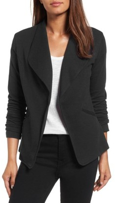Women's Caslon Knit Blazer $59 thestylecure.com