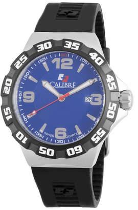 Lancer Calibre 44mm Steel Watch w/ Rubber Strap