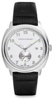 Larsson & Jennings Meridian Leather Strap Watch