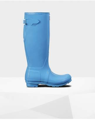 Hunter Womens Original Adjustable Gloss Rain Boots