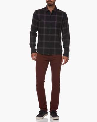 Everett Shirt-Dark Garnet