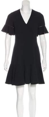 Rebecca Taylor Ruffled Jacquard Dress w/ Tags