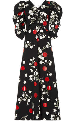 Isa Arfen Wow Puff Sleeve Dress