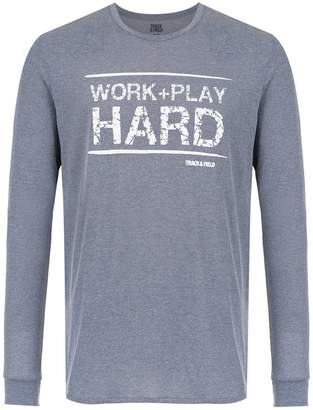 Track & Field Hard long sleeved t-shirt