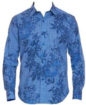 Robert Graham Rowe Tropical Print Button-Down Shirt