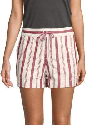 Zadig & Voltaire Paro Raye Cotton Shorts