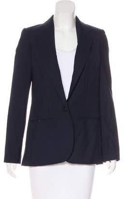 Blumarine Wool Notch-Lapel Blazer