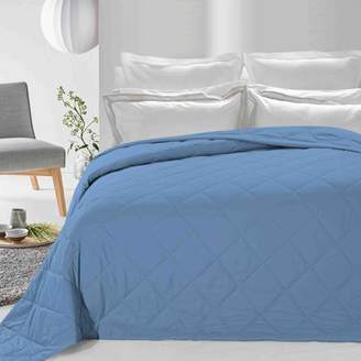 DOWN HOME Never Down Alternative Down Blanket Blue Twin