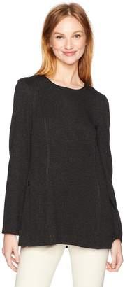 Calvin Klein Women's Long Sleeve Tunic with Zips