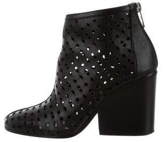 Hermes Laser Cut Ankle Boots