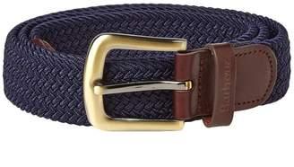 Barbour Stretch Webbing Leather Belt