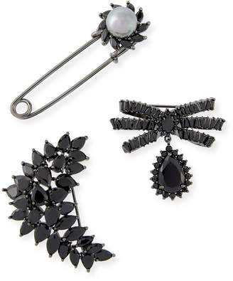 Fallon Monarch Crystal Pin Set