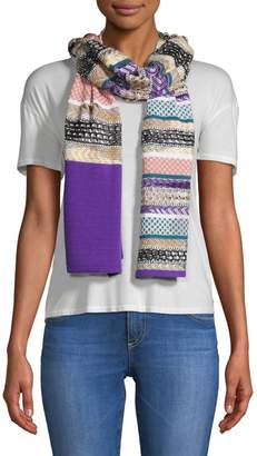 Missoni Multi-Print Stripe Scarf