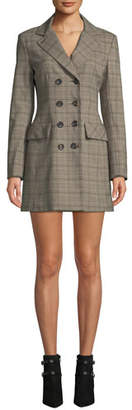 Nanette Lepore Espionage Mini Dress in Plaid
