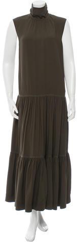 CelineCéline Sleeveless Maxi Dress