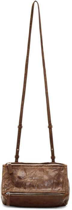 Givenchy Tan Mini Pandora Bag