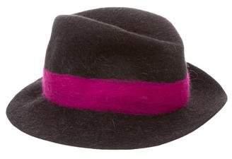 LOLA Cosmetics Fur Felt Hat w/ Tags