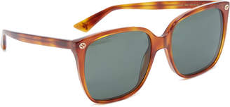 Gucci (グッチ) - Gucci Lightness Square Sunglasses