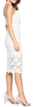 Bardot Vienna Lace Overlay Dress