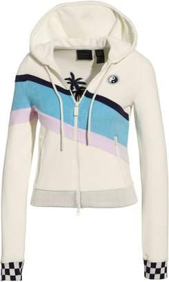 FENTY Women's Terrycloth Zip-Up Racing Jacket