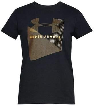 Under Armour Women's Sportstyle Mesh Logo Tee