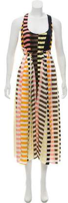 Apiece Apart Striped Maxi Dress