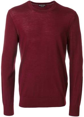 Michael Kors slim fit knitted jumper
