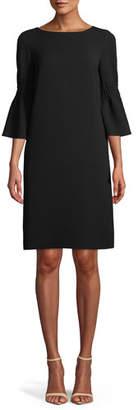 Lafayette 148 New York Lorelie Finesse Crepe Shift Dress