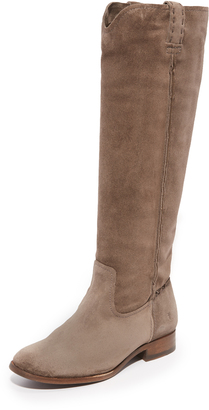 Frye Cara Tall Boots $378 thestylecure.com