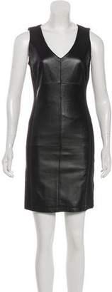 Mark & James by Badgley Mischka by Badgley Mischka Leather Mini Dress