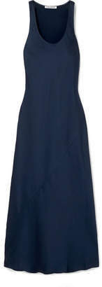 Elizabeth and James Malta Satin-crepe Maxi Dress - Navy