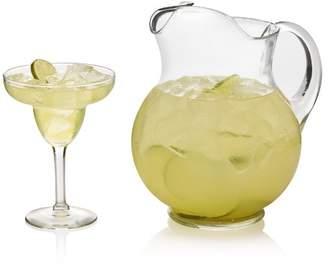 Libbey Cancun Margarita 7 Piece Glass Cocktail Glass Set