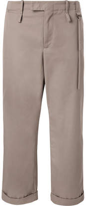 Craig Green Wide-Leg Twill Trousers