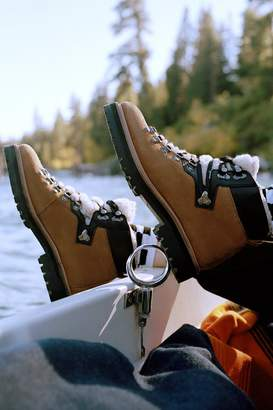 Urban Outfitters Bailey Sherpa Hiker Boot