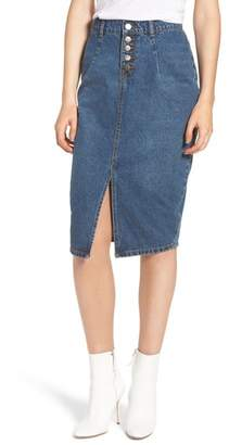 LOST INK Denim Skirt