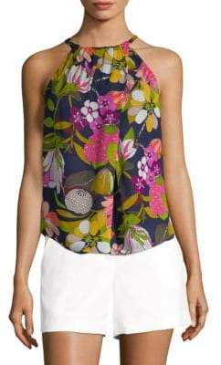 Trina Turk Rosemary Silk Top