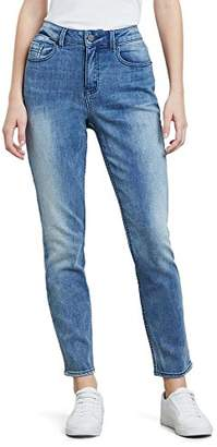 Kenneth Cole Women's High Rise Crop Jean