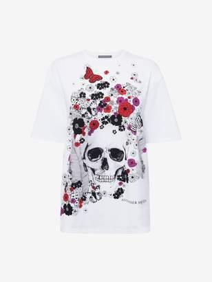 Alexander McQueen Oversize Skull T-Shirt