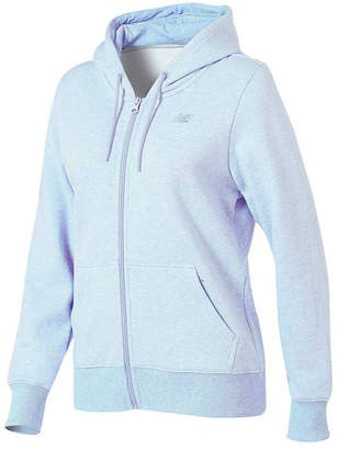 c5b2b6408e77d at Rebel Sport · New Balance Womens Volume Fleece Full Zip Hoodie