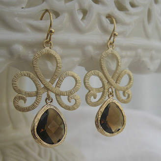 EVY Designs Talicia Glass Droplet Earrings