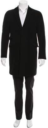 Etro Wool-Blend Button-Up Coat