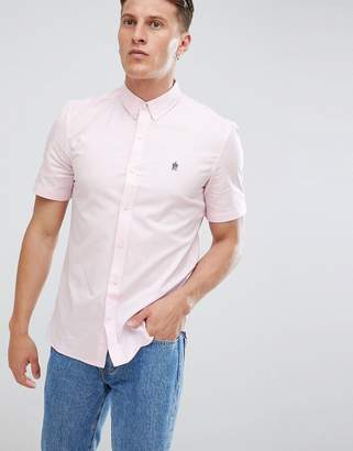 French Connection Oxford Short Sleeve Shirt