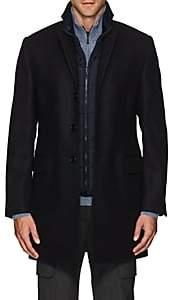 Fay Men's Benjamin Wool-Cashmere Coat - Blue