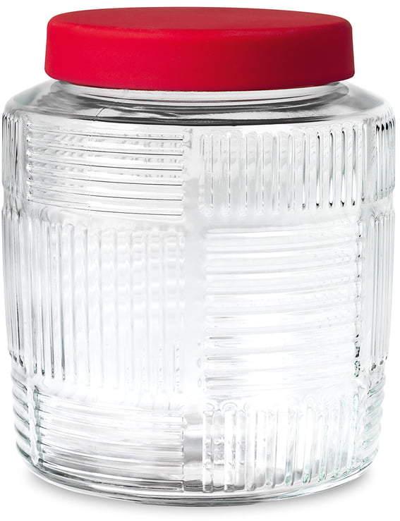 Rosendahl - Nanna Ditzel Aufbewahrungsglas 2,0 l, Rot